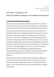 SOUVENIRS – kleine Dinge von Welt Kulturwissenschaftliche ...