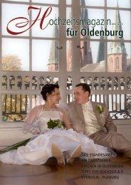 Hochzeitsmagazin Oldenburg