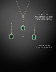 Schmuck, Taschen- und Armbanduhren - Galerie Fischer Auktionen ...