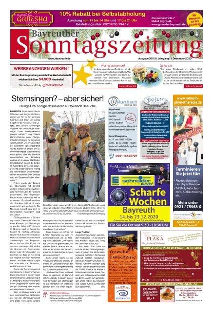 2020-12-13 Bayreuther Sonntagszeitung