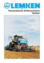 Pneumatische Drillmaschinen Solitair - db-central