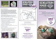 """""""Zentrum für edle Steine"""" - Edelsteinhaus"""
