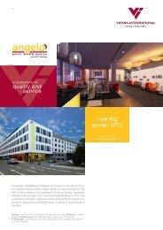 Factsheet download (pdf) - Vienna International Hotels