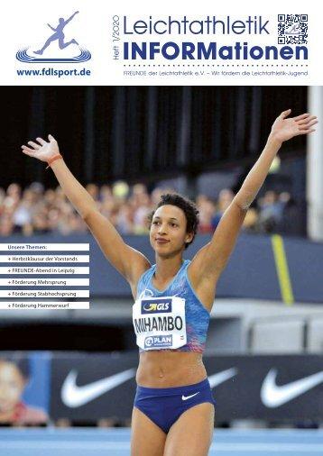 Leichtathletik INFORMationen 01/2020