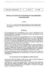 Beitrag zur Kenntnis der Verbreitung der Smaragdeidechse in ...