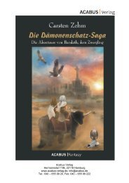 """Wie es weitergeht … """"Die Drachenfriedhof-Saga ... - ACABUS Verlag"""