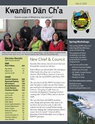 Live on KDFN lands? - Kwanlin Dün First Nations