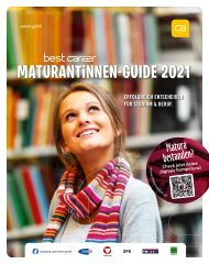best career MaturantInnen-Guide 2021
