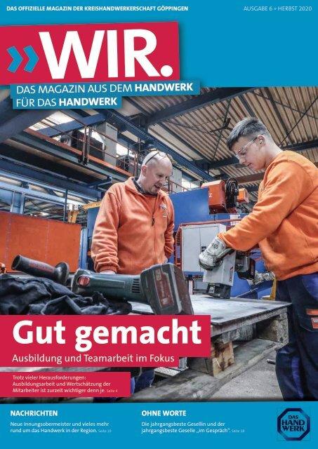 WIR - Das Magazin aus dem Handwerk für das Handwerk (Ausgabe 2/2020)