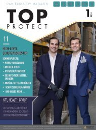 TOP PROTECT – BEILAGE IM MANAGER MAGAZIN 01/21