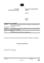 12111/11 CHO/sm DG C 1 A RAT DER EUROPÄISCHEN UNION ...