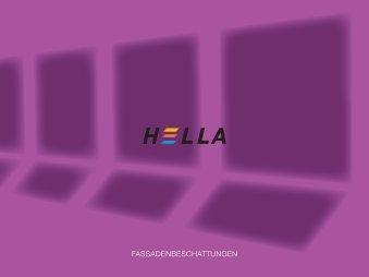 FASSADENBESCHATTUNGEN - Hella Specht