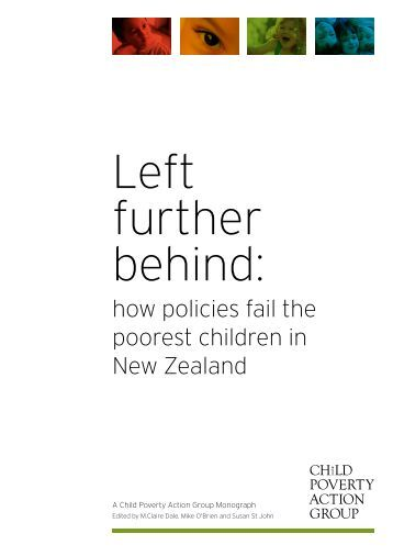 Left Further Behind - Child Poverty Action Group