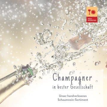 Champagner in bester Gesellschaft