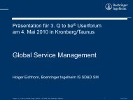 Boehringer Ingelheim Pharma GmbH & Co. KG: Global