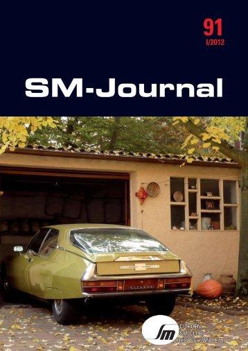 Magazin - Citroen-SM-Club Deutschland e.V.