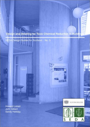 Design and Detailing for Toxic Chemical Reduction in Buildings
