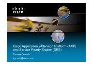 Cisco Application eXtension Platform (AXP) Cisco Application ...