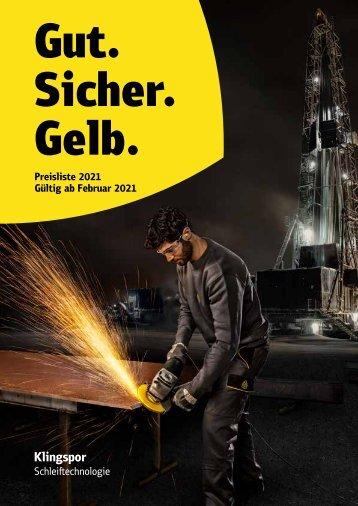 Preisliste 2021 - Österreich