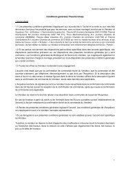2020 12 Conditions générales de vente et de livraison de Groupe Theuma  - France