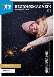Töfte Regionsmagazin 12/2020 - Willkommen in der Weihnachtszeit