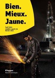 Preisliste 2021 - Benelux_französisch