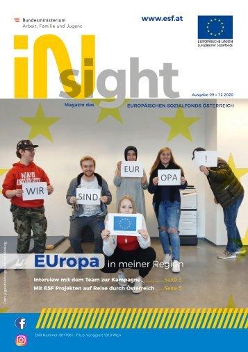 ESF insight Ausgabe 9 Dezember 2020