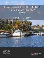 Vero Beach 32963 Real Estate Market Report November 2020