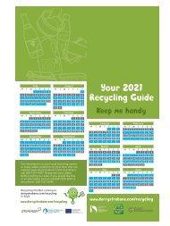 Bin collection Calendar 2021