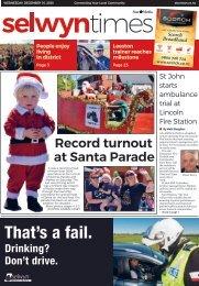 Selwyn Times: December 16, 2020