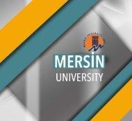 Mersin University Catalog