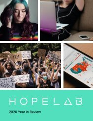 Hopelab 2020 Year in Review