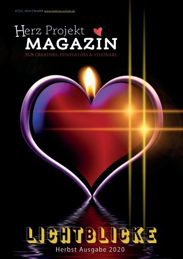 Herz Projekt MAGAZIN Herbst 2020 15.12.2020