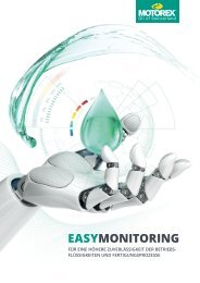 MOTOREX Easy Monitoring DE