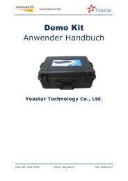 Yeastar Demo Kit 2012 - smaro GmbH