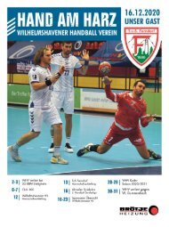Wilhelmshavener Handball Verein - Hand am Harz