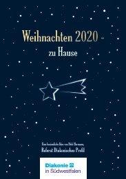 Weihnachten 2020 – zu Hause