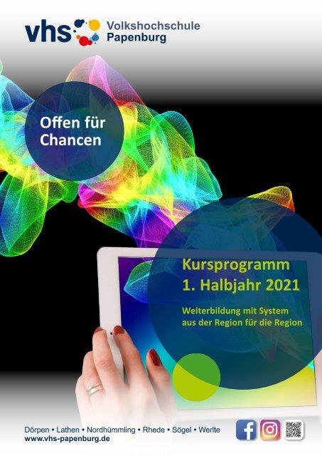Kursprogramm Volkshochschule Papenburg