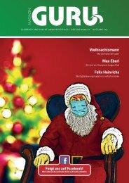 GURU Magazin, Jahreswechsel 2020/21 (Dez. 2020 / Jan. 2021