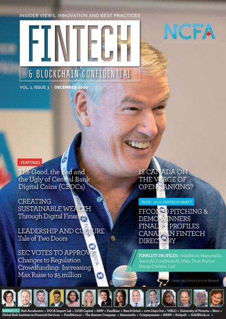 NCFA Fintech Confidential December 2020 (Issue 3)