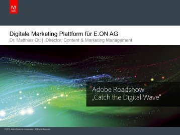 Geschwindigkeit der Implementierung - Adobe Digital Marketing