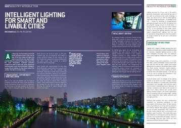 intelligent lighting for smart and livable cities - Philips Lighting