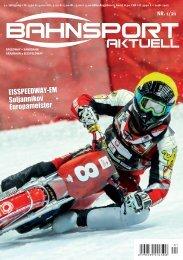 Bahnsport aktuell Ausgabe 01/2021