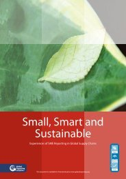Download Small, Smart and Sustainable - Global Reporting Initiative