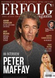 Erfolg Magazin, Ausgabe 01-21