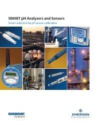SMART pH Analyzers and Sensors - Emerson Process Management