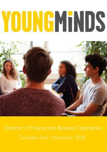 Candidate Pack - YoungMinds Director of Finance and Business Operations