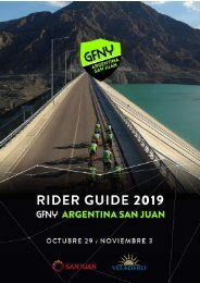 GFNY Argentina Race Guide 2019