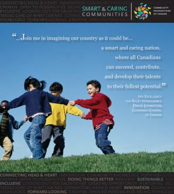 Smart & Caring - Community Foundations of Canada