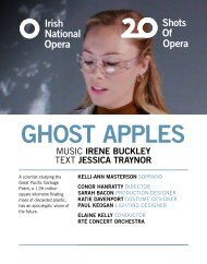 Ghost Apples Programme Book